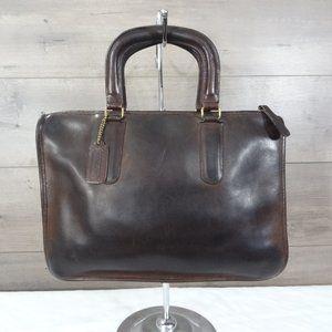 Coach Vintage Bonnie Cashin Brown NYC Satchel Bag